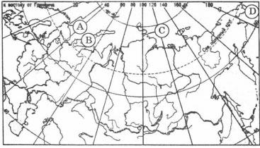 Карта мыс Челюскин