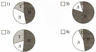 Круговая диаграмма ответ 2 вариант