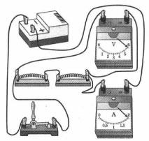 В электрическую цепь включены два одинаковых проводника