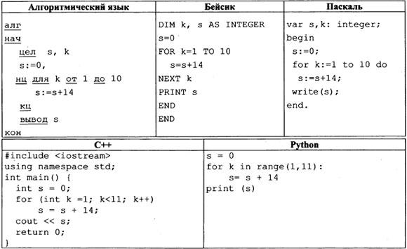 Программа задание 9